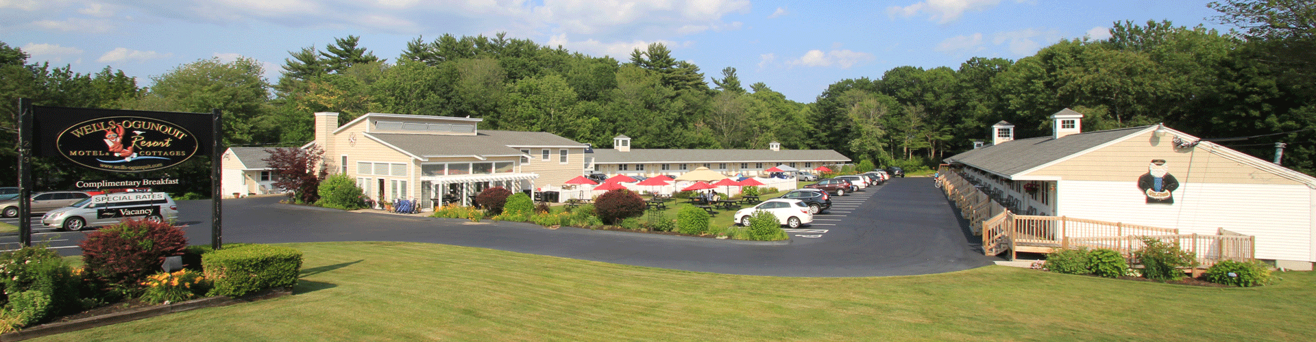 Wells Maine Bed and Breakfast Inns Hotels Motels - Wells Ogunquit Resort Motel